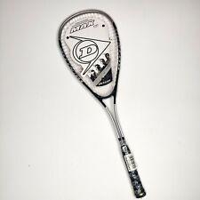 Dunlop Max TI Titanium Squash Racquet Black Silver Brand New