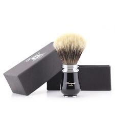 New Men Shaving brush silver Tip Badger Hair Shave Bras Handle Razor Barber Tool