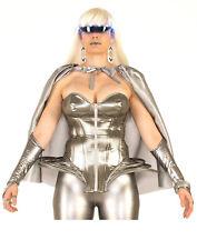 Futuristic Womens Adult Space Lady Halloween Costume Corset