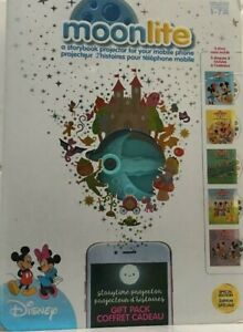 Disney Moonlite - Special Edition Gift Pack, Storybook Projector for Smartphone