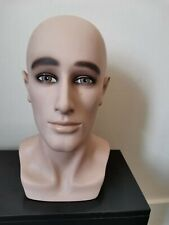 Male MANNEQUIN HEAD DISPLAY FOR WIGS/HATS/SCARFS