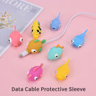 Earphone Cable Bite Animals Protector For Charging Cord USB Cable Winder Cabn$