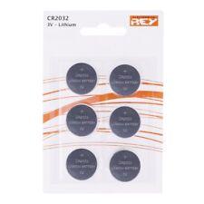 Pack de 6 Pilas Modelo CR2032 3V Tipo Botón Litio en Blister Gran Calidad b07 vr