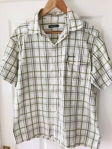Craghoppers Mens Short Sleeve Shirt Size Large