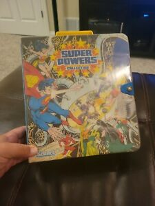 Vintage 1984 Kenner DC Super Powers Collection Carrying Case-Complete LOT B