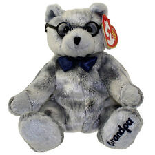 TY Beanie Baby - GRANDFATHER the Bear (Internet Exclusive) (7.5 inch) - MWMTs