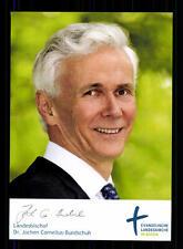 Jochen Cornelius Bundschuh Autogrammkarte Original Signiert  ## BC 72327