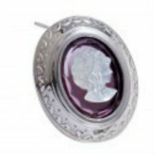 New Makuti Sterling Silver Cameo Brooch Y6000 0066