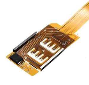 Dual SIM Card Adapter Duo SIM Converter NO CUTTING for iPhone5 5C 5S 6 4.7'' Hot
