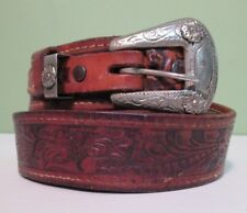 Leather Decorative Distressed Belt