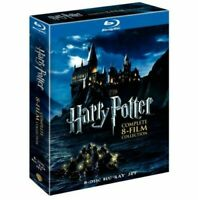 Harry Potter Complete 8-Film Collection (Blu-ray, 8-Disc Set) New & Sealed