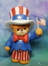 Enesco Lucy and Me Lucy Rigg Bear as Uncle Sam Americana