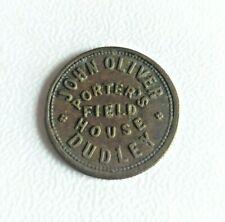 More details for rare / vintage john oliver porter's field house dudley 6d pub token