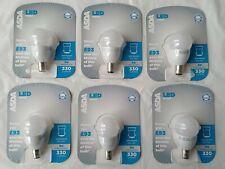 6 x LED Vela Globo Pelota De Golf Bombillas MR16 GU10 E14 B22 B15 E27 5W 6W 7W 9W