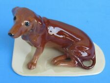 Hagen-Renaker 01567 Dachshund Ceramic Figure