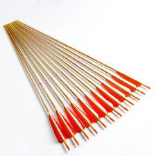 6PCS SP500 32'' ID6.2mm Reiner Kohlenstoff Pfeile Schäfte Bogenschießen Arrows