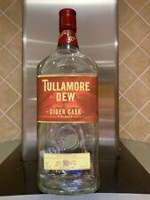 Tullamore DEW 'Cider Cask Finish' Irish Whiskey - Empty 1 Litre Bottle