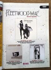 More details for fleetwood mac 'rumours + 2'  2004  magazine advert/poster/clipping 11x8 inches