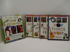 Two-Can First Encyclopedia 4 Book Reference Set Kids Encyclopedia - Home School