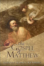 The Gospel of Matthew by Rudolf Schnackenburg (Paperback, 2002) NEW
