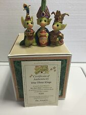 Wee Three Kings Mib Coa Whimsical World Of Pocket Dragons