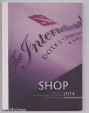 Secret Shop Catalog Booklet Exclusive from DOTA 2 The International 2014