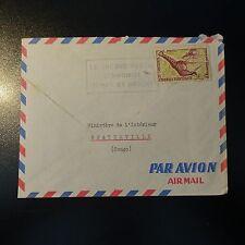 CAMEROUN LETTRE COVER  POUR LE MINISTÈRE DE L'INTÉRIEUR A BRAZZAVILLE CONGO