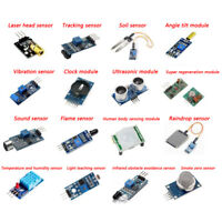 New 16pcs Durable Sensor Module Board Kits for Arduino Raspberry Pi 3/2 Model B
