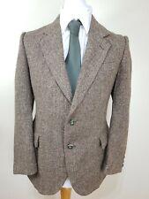Vintage Harris Tweed McGregor Men's Brown Green Stripes Blazer Jacket 40 Chest