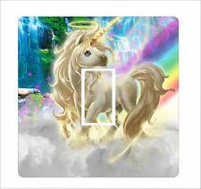Unicorn 3 - Light Switch Sticker vinyl cover skin decal