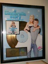 """A Cinderella Story"" Sound Track HILARY DUFF 500K RIAA Certified Sales Award"