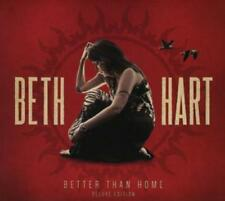 Beth Hart Better Than Home, CD/2015/11 chansons/Deluxe Edition/Nouveau Neuf dans sa boîte