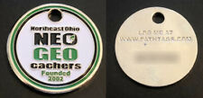 Neo Geo (Northeast Ohio Geocachers) Geocoin Path Tag