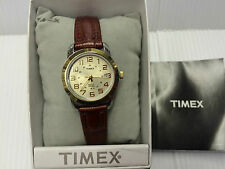 Timex Genuine Leather Strap 30 m (3 ATM) Wristwatches
