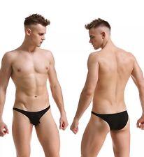 """Sexy Men's Briefs Underwear Transparent Soft Low Waist Underpants 38""""40"""" #311"""