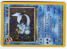 Pokemon Vaporeon holo 12//64 Jungle PSA 7 Presque comme neuf