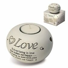 Said With Sentiment 7304 Love Tealight Holder