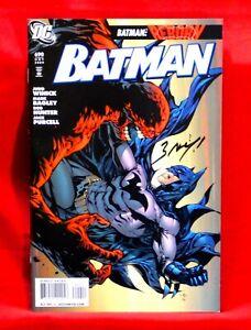 BATMAN #690 CLAYFACE , PENGUIN SIGNED BY ARTIST MARK BAGLEY