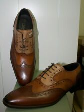 Di Franco Wingtip Oxford Mezlan Brogue Shoes Multi Tone Made In Italy