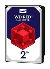 """Western Digital WD Red 2TB 2000GB 3.5"""" Festplatte HDD SATA 6Gb/s (WD20EFRX)"""