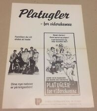 """Flodder"" Nelly Fridja Huub Stapel Dick Maas 1986 Danish Movie Press Release Kit"