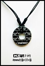 Collar Ajustable Estampado Logo Marea Colgante Unisex Calavera Música Rock