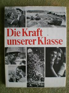 FDGB der DDR - Die Kraft unserer Klasse - DDR Bildband Werktätige Arbeiter