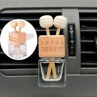 Clamp El vidrio puede Ambientador Botella de perfume del coche Aceite esencial