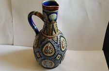 Doulton Lambeth  Stoneware Ewer C1880 William Parker /Mary Ann Thompson ex Cond
