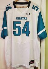 Coastal Carolina Chanticleers Under Armour NCAA WHITE Football Jersey size 3XL
