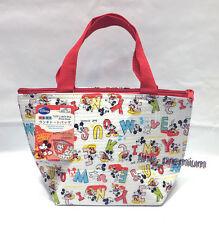 Disney Mickey Mouse Insulated School Lunch Food Snack Storage Mini Tote Bag