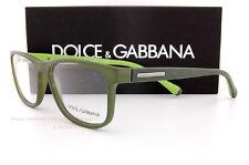 3017864e97b1 Brand New Dolce   Gabbana Eyeglass Frames 5003 2811 Green Unisex SZ 54