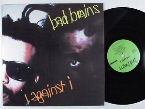 BAD BRAINS I Against I SST LP VG++ insert *