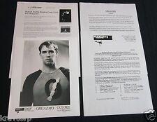 TREY PARKER/ROBERT SMITH 'ORGAZMO SOUNDTRACK' 1998 PRESS KIT--PHOTO